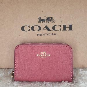 Coach Strawberry Coin Case / Mini Wallet